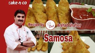 Aloo samosa recipe by Cake n Co ( Ramzan special )