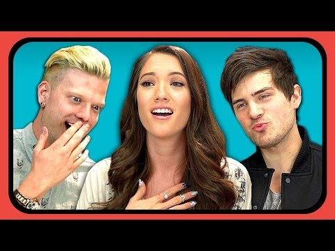 YOUTUBERS REACT TO FIRST KISS