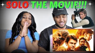 """""""Solo: A Star Wars Story"""" Official Trailer REACTION!!!"""