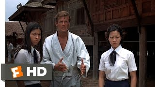 The Man with the Golden Gun (2/10) Movie CLIP - Ditching the Dojo (1974) HD