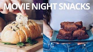 VEGAN SNACKS FOR NETFLIX/ MOVIE NIGHT