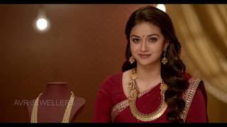 AVR Jewellers - Finishing Keerthi Suresh & Sathiyaraj ad