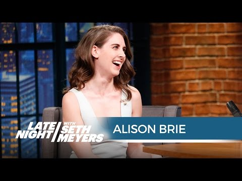 Xxx Mp4 Alison Brie Accidentally Peed On Her Vintage Mad Men Undergarments Late Night With Seth Meyers 3gp Sex