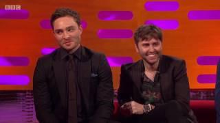 Ed Westwick & James Buckley on Graham Norton Show 5/26/17 [HD]