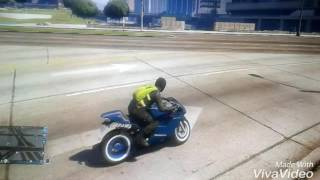 GTA5:FAIRE UN AIR GRAB \FIGURE EN MOTO\