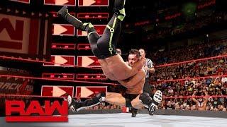 Seth Rollins vs. Finn Bálor - Intercontinental Championship Match: Raw, April 30, 2018