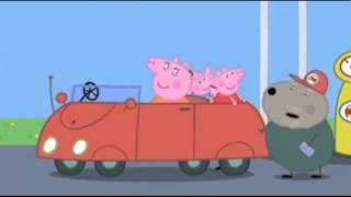 Peppa Pig Toys Dollhouse ~ The New Car - Snow