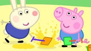 Peppa Pig en Español Episodios completos | ¡El amigo de George Richard Rabbit! | Dibujos Animados
