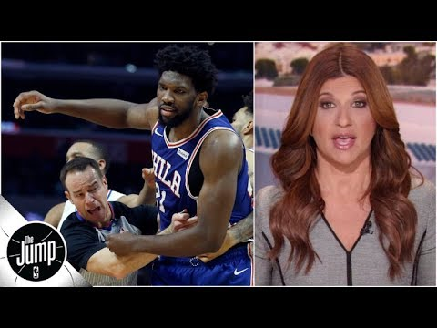 Joel Embiid cursing at Ben Simmons proposed Kendall Jenner ban all part of 76ers circus The Jump