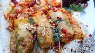 Vegan Tolma Recipe with Lentils - Armenian Cuisine - Heghineh Cooking Show