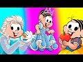 Download Video MONICA PRINCESAS DISNEY - Branca de neve - Cinderela- Frozen 3GP MP4 FLV