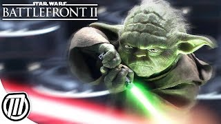 Star Wars Battlefront 2: Jedi vs Sith - BRUTAL HEROES v VILLAINS GAMEPLAY