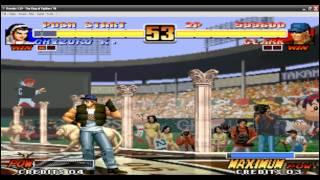 Clark vs Chizuru Kof 96 Primer Intento
