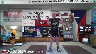 Magdolen Anton (1947), NH3, 105 kg (x)