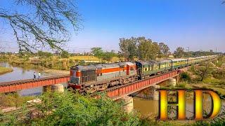 IRFCA - Watching Indian Railways Train Crossing a Bridge... A Delightful Experience