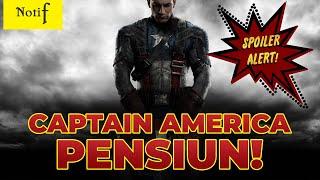 SEDIH ! CAPTAIN AMERICA KELUAR DARI AVENGERS 😢😢