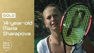 14-year-old Maria Sharapova on Trans World Sport