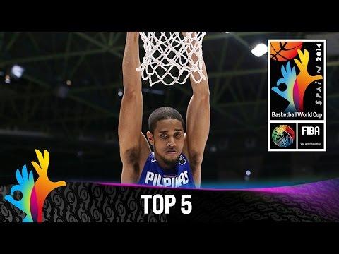 watch Top 5 Plays - 1 September - 2014 FIBA Basketball World Cup