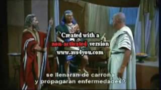 MOISE CONTRE LE PHARAON D'EGYPTE/HISTOIRE VRAIE 1/2 LLIES MAHFOUDI