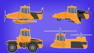 Transformer | Fighter Plane | Float Plane | Twin Engine Helicopter