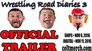 *Official Trailer* Wrestling Road Diaries 3  - PRE ORDER NOW