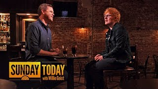 How Ed Sheeran Stays Down-To-Earth As A Normal Guy | Sunday TODAY