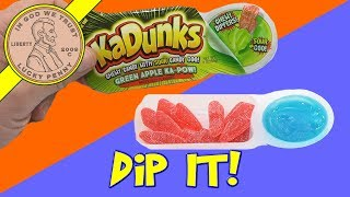KaDunks Gummy Candy With Sour Dipping Review