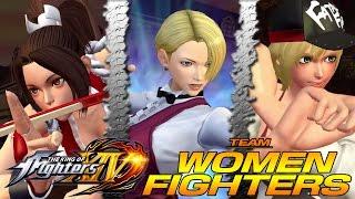 3 BELLEZAS Y RICHARD!! KOF XIV Modo Historia #1 | WOMEN FIGHTERS TEAM