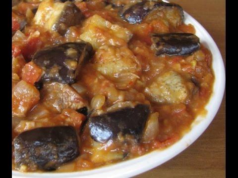 Рецепты с баклажаном и мясом