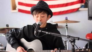 eiku harmonize - 足音  〜 be strong / Mr.children (Acoustic Cover)