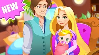 Disney Princess Rapunzel - Tangled Newborn Baby video - Tangled Movie Game