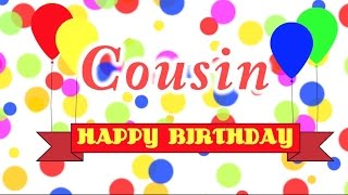 Happy Birthday Cousin Song