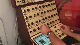 Synth-Project presents: The iVCS3 Controller - Short demonstration
