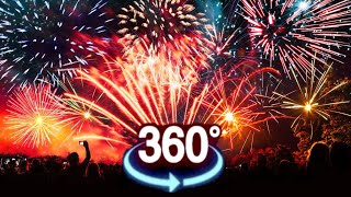 VR 360 Video ★ Fireworks VR XXL 180 VR [Google Cardboard VR Box 360] Virtual Reality 360 VR 180 4K