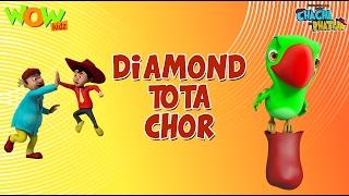 Diamond Tota Chor - Chacha Bhatija - Wowkidz - 3D Animation Cartoon for Kids  As seen on Hungama TV
