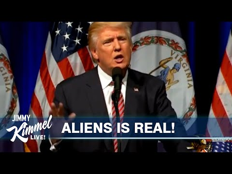 Trump Knows About Aliens and Hasn't Said Anything