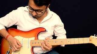 Bekhayali (Kabir Singh) Intro Solo Guitar Lesson - Detailed Discussion And The Blues