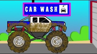 Monster Truck Car Wash - Auto Myjnia