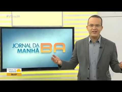 Escalada e Início do Jornal da Manhã - 26/10/2018 | Rede Bahia - Salvador