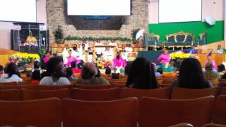 Youth And Praise Dancers- Be Lifted By Micah Stampley