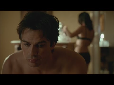Xxx Mp4 The Vampire Diaries 7x13 Damon And Krystal After Sex And Bonnie Comes In HD 3gp Sex