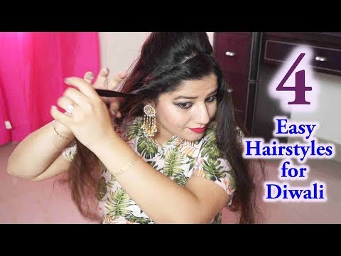Xxx Mp4 4 Easy Hairstyles For Diwali 3gp Sex