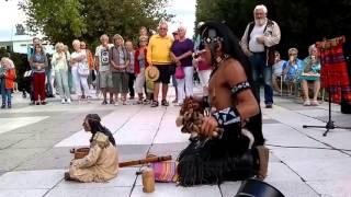 Lakota Dream Song - Street Performance