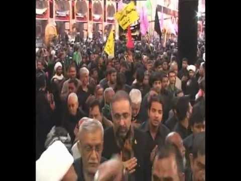 Aza Ill Husain Al Hind Matami Juloos of India in KARBALA on Arbaeen 2012