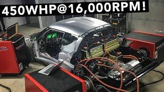 Tesla Motor Is In & Makes Big Power! - Lotus Evora Electric Car - EP03