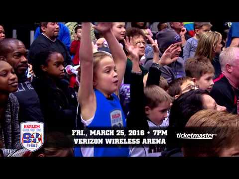 Harlem Globetrotters- Verizon Wireless Arena: March 25th, 2016