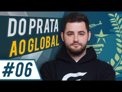do PRATA ao GLOBAL #6 Quase Ft Bida (FalleN CSGO) with English CC
