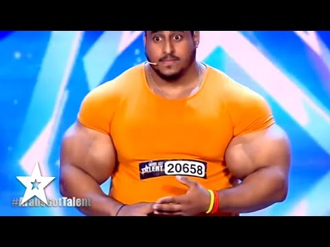 Xxx Mp4 Real Life HULK Sings Arms Wrestles JUDGE Got Talent Global 3gp Sex