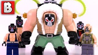 Every LEGO Bane Minifigure Ever Made!!! LEGO DC Batman Collection Review