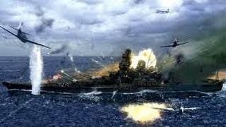 Aviation Battles | Death of the Battleship Yamato Armada | Military Documentary Film